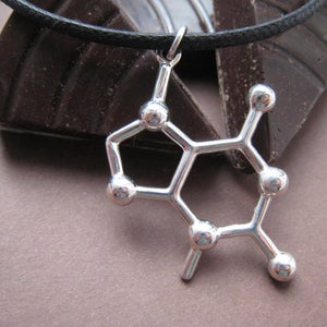 Image of theobromine necklace - black