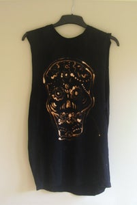 Image of Sugar/Candy Skull Bleached Vest