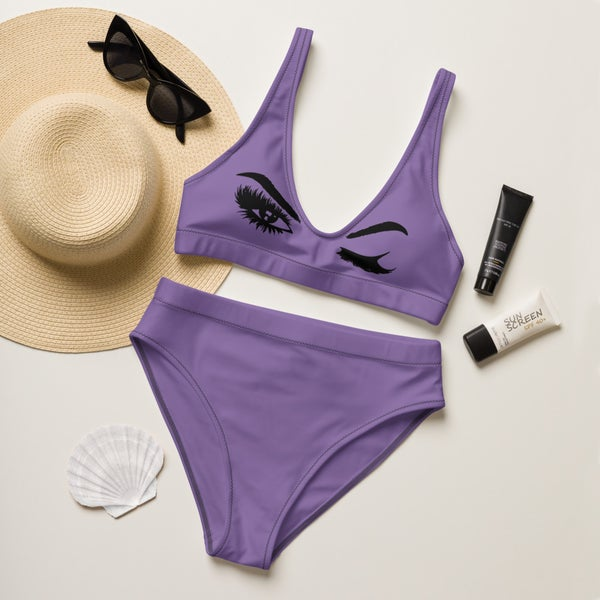 Image of Wink Hot Girl Summer Recycled high-waisted bikini
