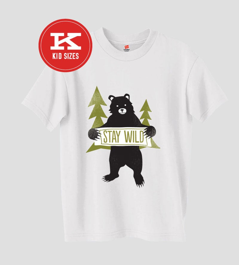 Image of Stay Wild (Kids) | Designed by Amy Sullivan