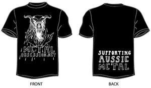 Image of Metal Obsession shirt (black)