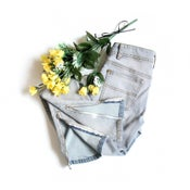 Image of Bleach Panel Skinny Jeans