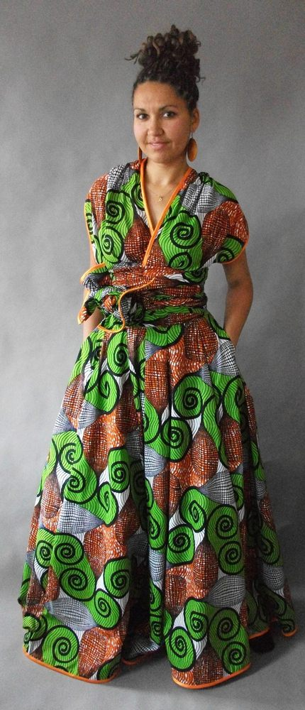 Image of Ololade Multi-Wrap Maxi Dress
