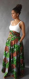 Ololade Multi-Wrap Maxi Dress