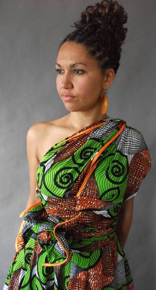 Image of Ololade Multi-Wrap Maxi Dress