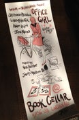 """Image of """"Office Girl"""" Poster by Jason Frederick"""