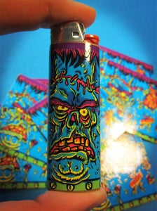 Image of Frankenstein Lighter Sticker