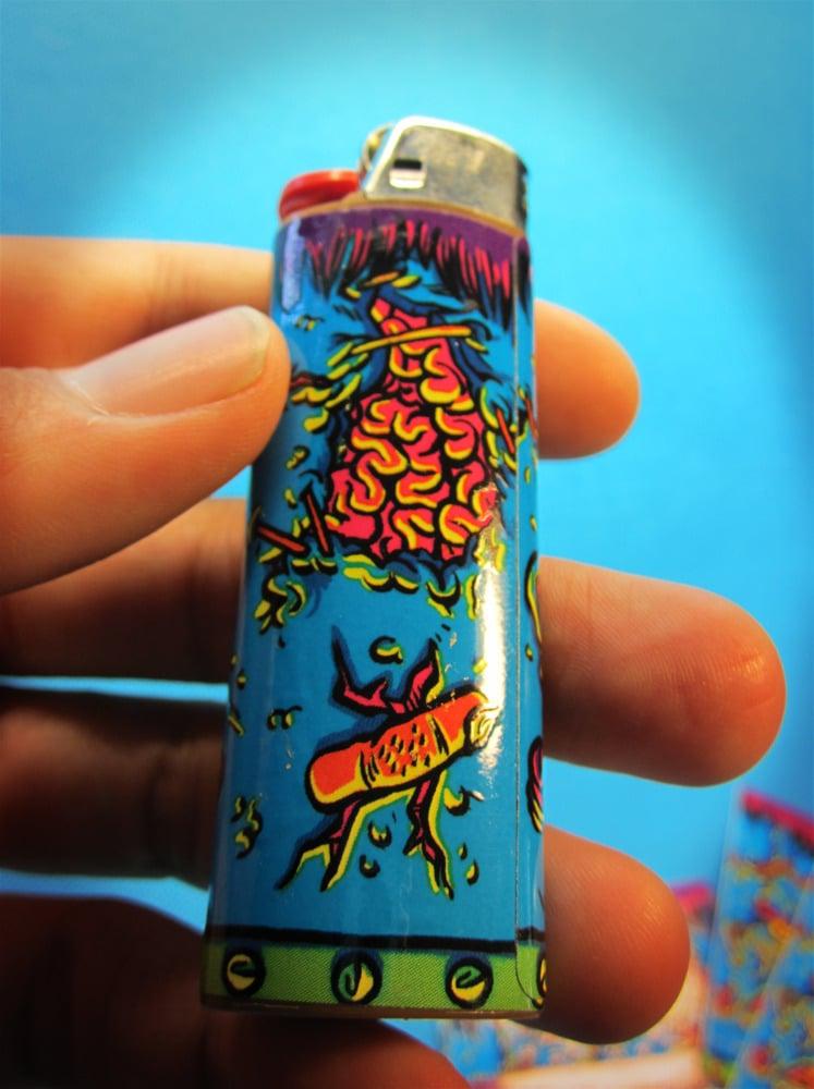 Image of Frankenstein Lighter Sticker