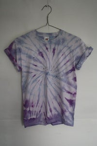Image of HAND MADE TIE-DYE T-SHIRT. UNISEX. SIZE SMALL [6]