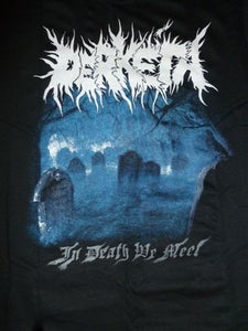 "Image of Derketa - ""In Death We Meet"" t-shirt"
