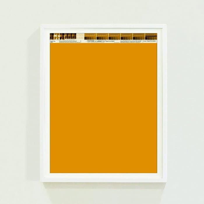 PANTONE® Letraset Posters × Oranges
