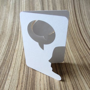 Image of speech bubble (pack of 6)