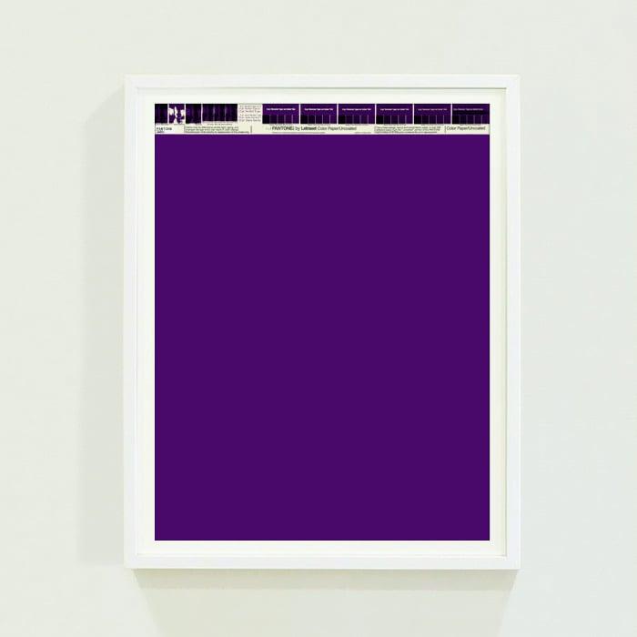 PANTONE® Letraset Posters × Purples
