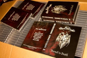 Image of BURNED TO DEATH DVD