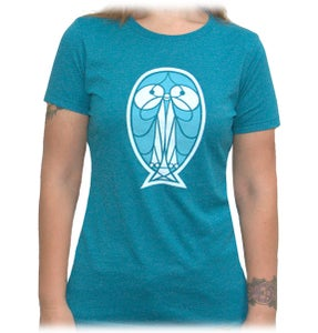 Image of Pretty Bird - Teal - Women