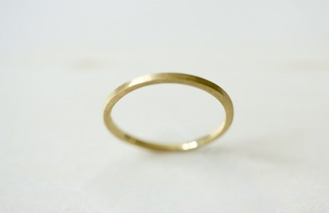 Image of 14K Yellow Gold Thin 1.5 mm Band
