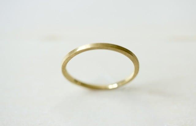Image of 14K Yellow Gold Thin 1.5 mm Band