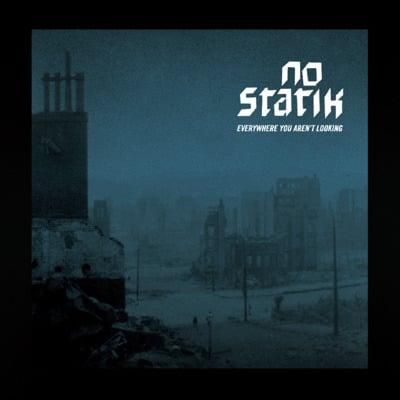 "Image of NO STATIK- ""Everywhere You Aren't Looking"" LP Dark Blue Vinyl"
