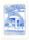 Canberra Bus Stop tea towel