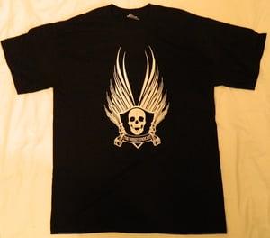 Image of Official Alternative LOGO T-Shirt - Green / Black / Grey