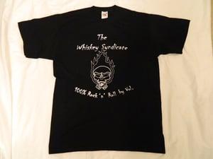 Image of Official Alternative original LOGO T-Shirt - Black