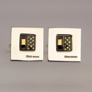Image of Polished Square Cufflinks