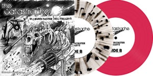 "Image of The Catastrophe / Vipers 7"" Split (Both Colors) ltd.250 each Hand-Numbered DOWNLOAD CARD"