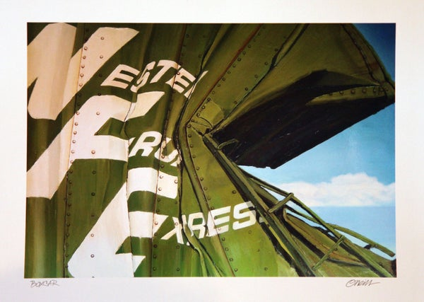 "Image of ""BOXCAR"" PRINT BY JAMIE O'NEILL"