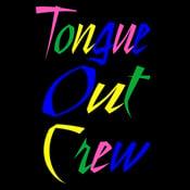 Image of Tongue Out Crew Original (Men's Tee)