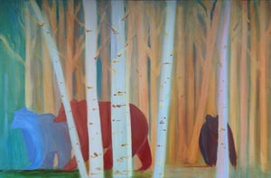 Image of Coming Out of the Aspens Painting