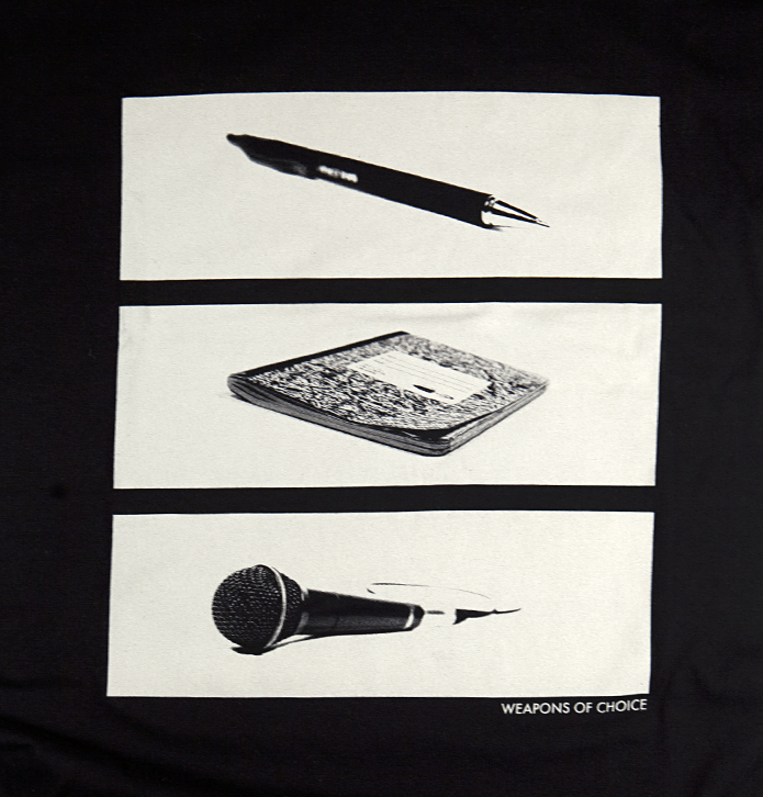Image of Weapons of Choice Tee