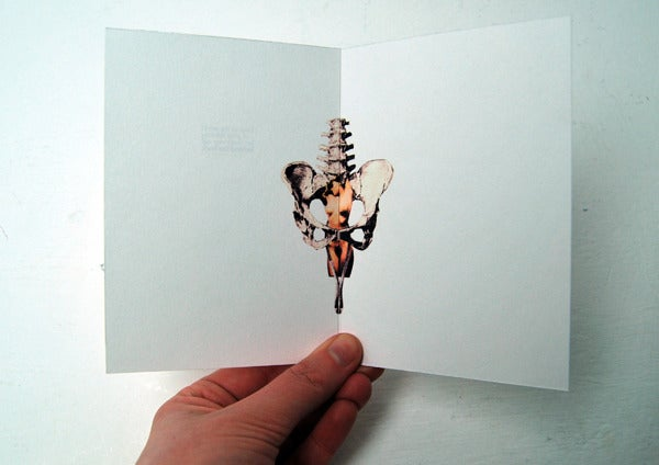 Image of A6 Folded Erotic Card