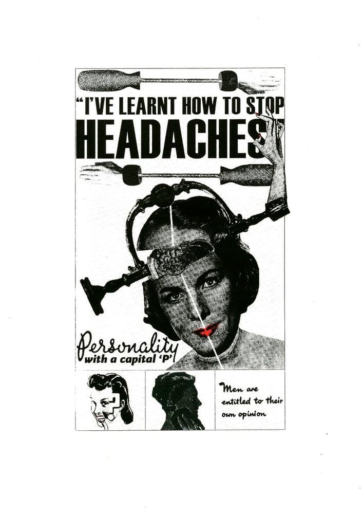 Image of Headaches, A2 Screen Print