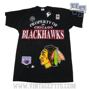 Image of Chicago BlackHawks Starter T shirt