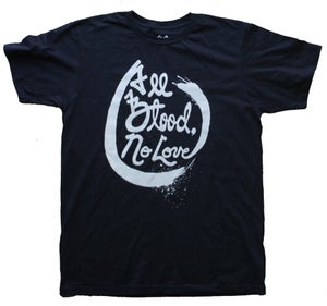 Image of All Blood, No Love - White/Navy