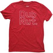 Image of Dub Nut. White/Old School Cherry