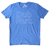 Image of Dub Nut. White/Heather Royal