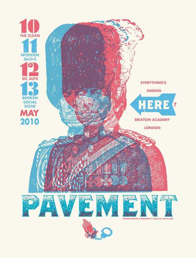 Image of Pavement - London 2010