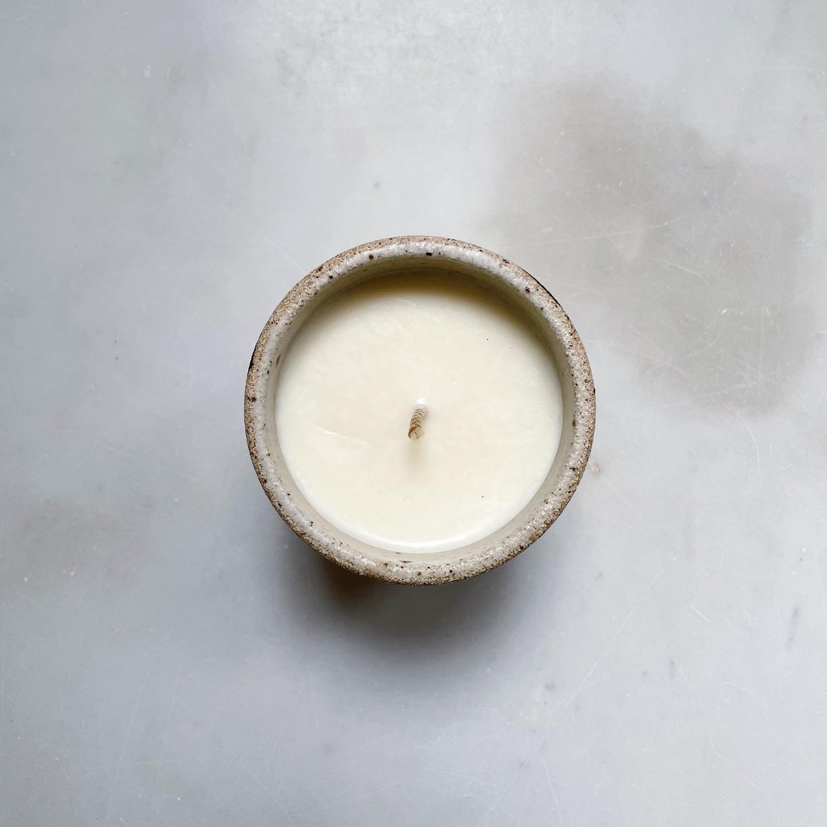 Image of Scented soy candle - leopard pattern