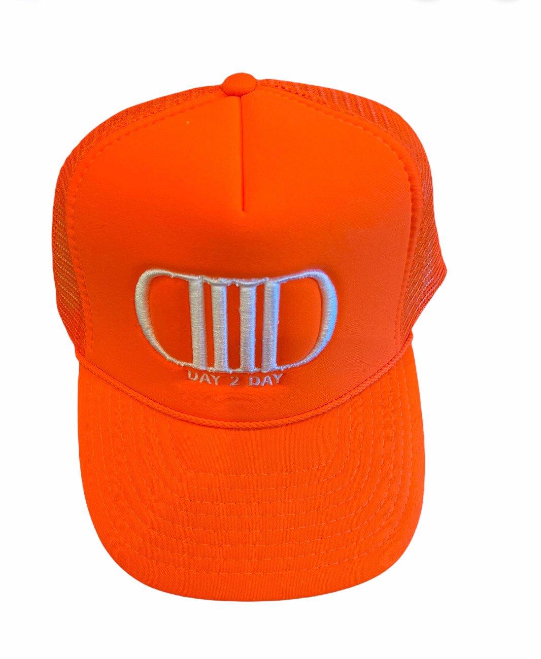 Orange/White Trucker Hat