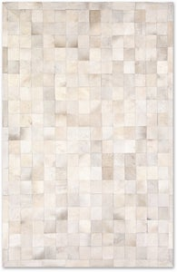 Image of Barcelona Natural Patchwork Rug