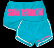 Image of STAY RANDOM Booty Shorts