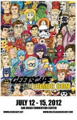 Image of Geekscape SDCC 2012 print