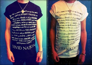 Image of 'Lyrics' T-shirt