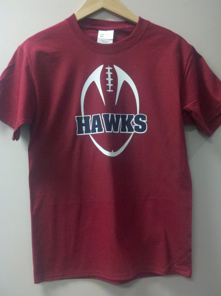 Image of Hannan Hawk Football Tee