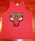 Image of Chicago Bulls Red Tank Top