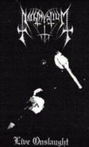 Image of Nachtmystium - 'Live Onslaught' TAPE