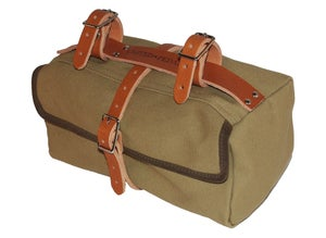 Image of Moss Saddlebag | 18oz Cotton Duck | British Tan