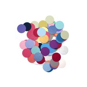 "Image of Metallic pearl dot confetti, 1"""
