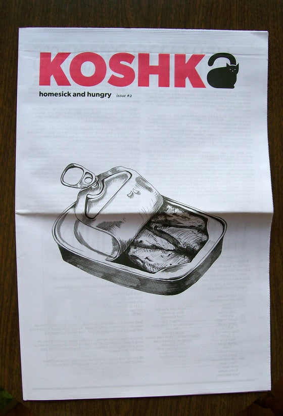 Image of Koshka #2: Homesick and Hungry Zine